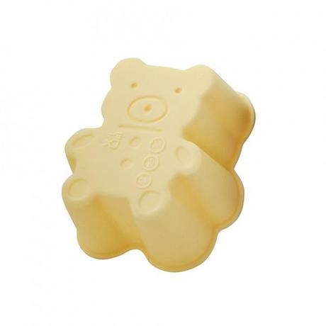 TORO Silikónové košíčky na muffiny 3ks TORO medvedik 7,5cm
