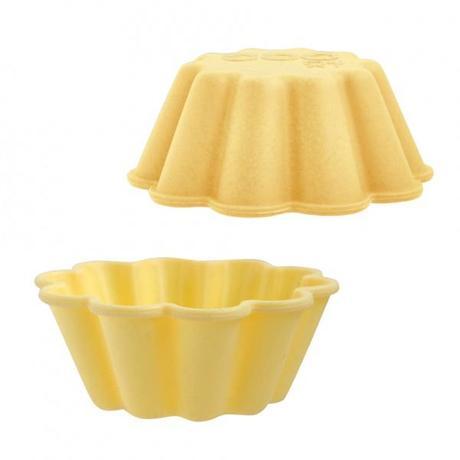 TORO Silikónové košíčky na muffiny 3ks TORO kvet 7,5cm