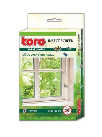 Sieť okenná proti hmyzu, čierna, 130 x 150 cm