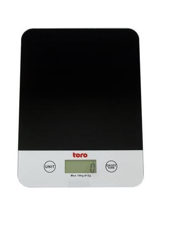 TORO Kuchynská váha, elektronická, do 10 kg