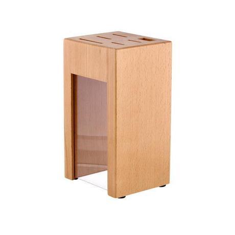 Blok na nože, bukové drevo