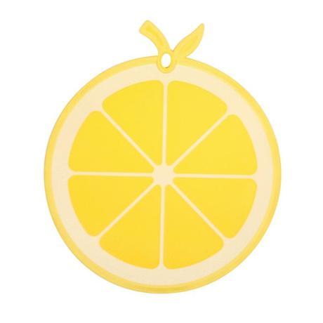 Doska kuchynské, tvar citrón, plast