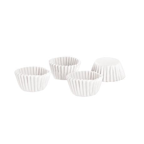 TORO Papierové formičky na mini muffiny TORO 100ks bielé