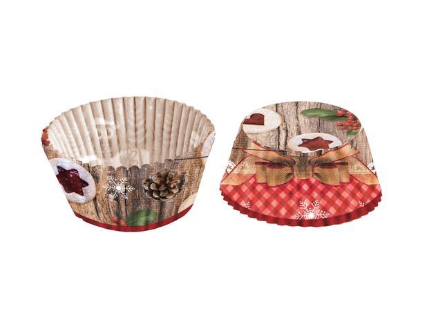 TORO Papierové formičky na muffiny TORO 60ks linecké