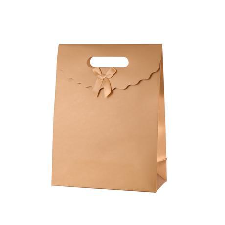 Papierová uzatvárateľná darčeková taška TORO ...