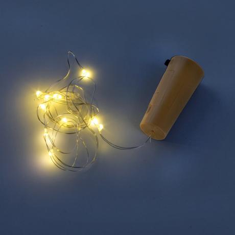 Dekoračná zátka 10 LED reťaz TORO
