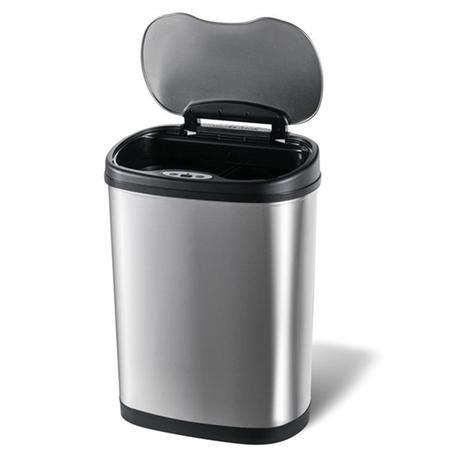 Nerezový kôš na triedený odpad TORO so senzor...
