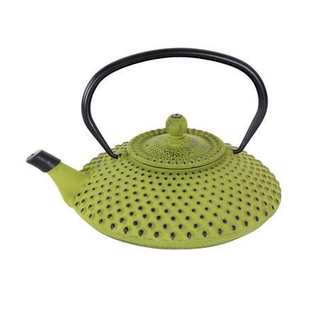 TORO Liatinová kanvica na čaj TORO 1,25l zelená - doprava zdarma