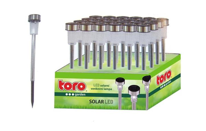 Solárne vonkajšie LED svetlo TORO