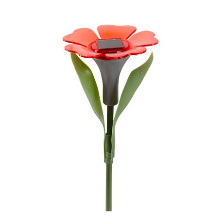 Solárne vonkajšie LED svetlo TORO kvetina