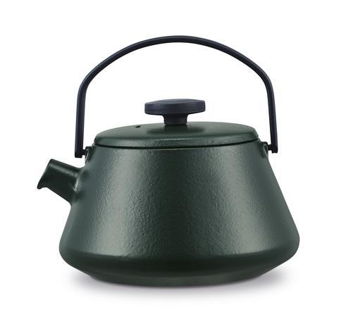BRABANTIA Liatinová kanvica na čaj BRABANTIA T-TIME zelená