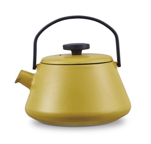 BRABANTIA Liatinová kanvica na čaj BRABANTIA T-TIME žltá