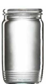 Zaváracie poháre 370ml  OMNIA uzáver 10ks