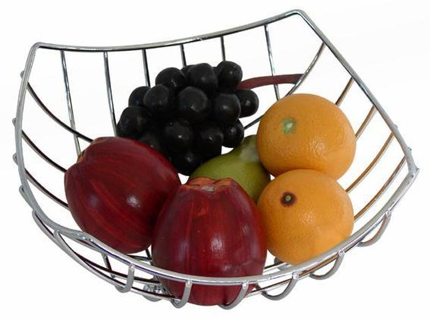 TORO Misa na ovocie, chróm