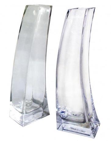 TORO Váza sklenená číra 5,9 x 8,7 x 25 cm