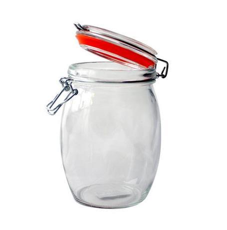 Dóza sklo, patentný uzáver, 740 ml