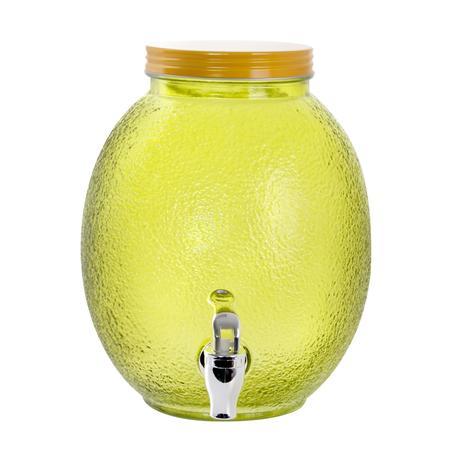 TORO Sklenený pohár s kohútikom TORO 4l citrón