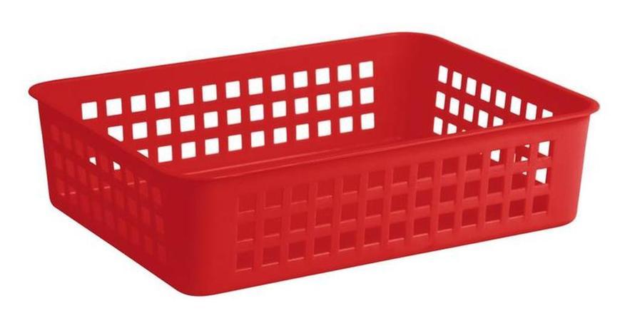 Keeeper Košík plastový, červený