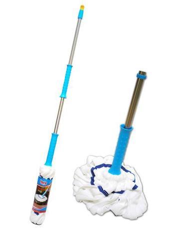 TORO Mop na podlahu s tyčou TWIST, 130 cm
