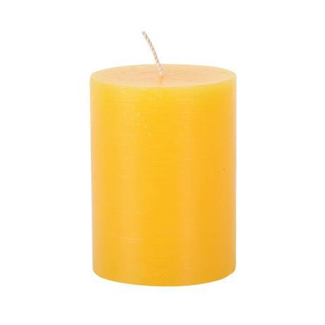 Rustikálna sviečka 10cm PROVENCE žltá