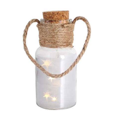 Dekoračná fľaša 5 LED PROVENCE Z lásky