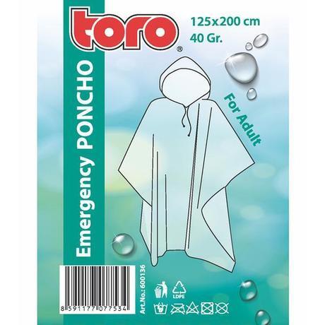 TORO Poncho pláštenka pre dospelých