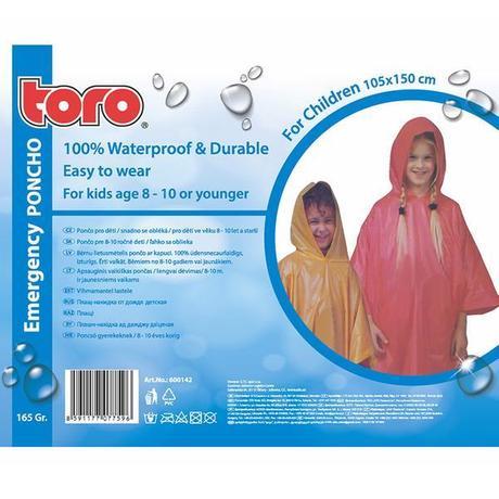 Poncho pláštenka pre deti TORO 8-10 rokov