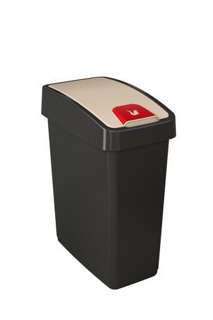 Plastový kôš na odpadky KEEEPER Mange 25l čie...