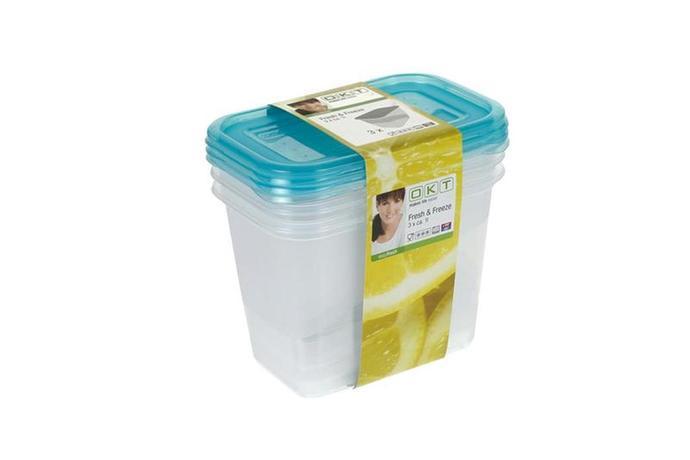 Keeeper Dóza na potraviny Fresh & amp; Freeze, 3 ks, 1 l