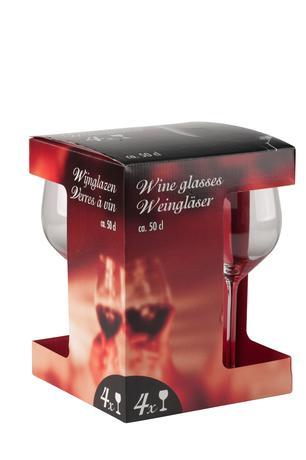 Poháre na červené víno 500ml 4ks