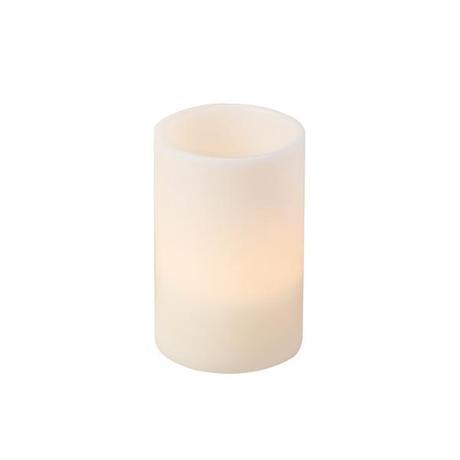 Sviečka LED slonová kosť 20cm