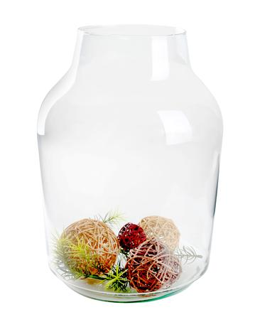Sklenená váza BANGS 37x14,5cm