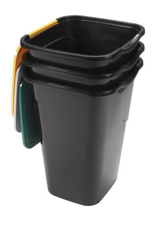 heidrun Plastový kôš na odpadky HEIDRUN 3x50l