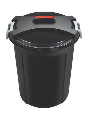 heidrun Plastový kôš na odpadky HEIDRUN 46l