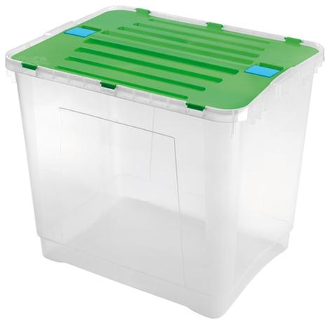 heidrun Plastový úložný box s vekom HEIDRUN Dragon 100l