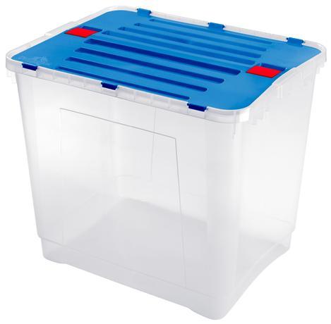 Plastový úložný box s vekom HEIDRUN Dragon 10...