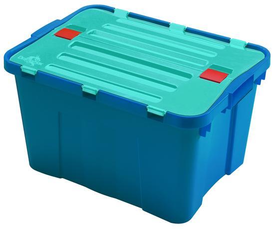 heidrun Plastový úložný box s vekom HEIDRUN Dragon 34l