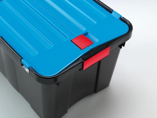 Plastový úložný box s vekom HEIDRUN Dragon 34...