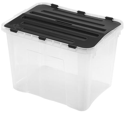 heidrun Plastový úložný box s vekom HEIDRUN 42l