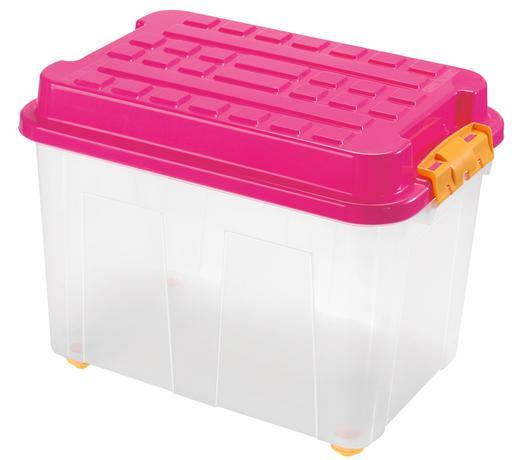 Plastový úložný box s vekom HEIDRUN Kubrik 75...