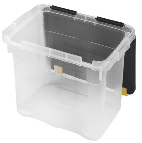 heidrun Plastový úložný box s vekom HEIDRUN One 18l