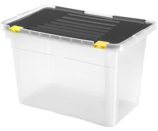 Plastový úložný box s vekom HEIDRUN One 54l