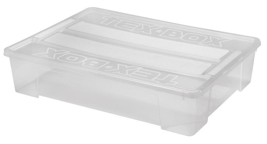 Plastový úložný box s vekom HEIDRUN TexBox 60...