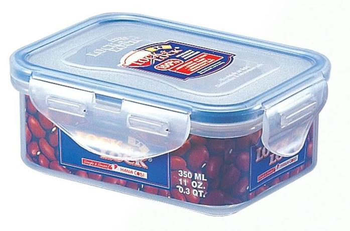 LOCKNLOCK Dóza na potraviny Lock - obdĺžnik, 350 ml