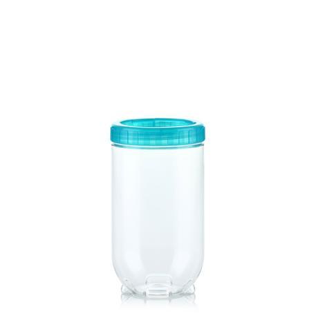 Dóza na potraviny Interlock 500 ml, modrá