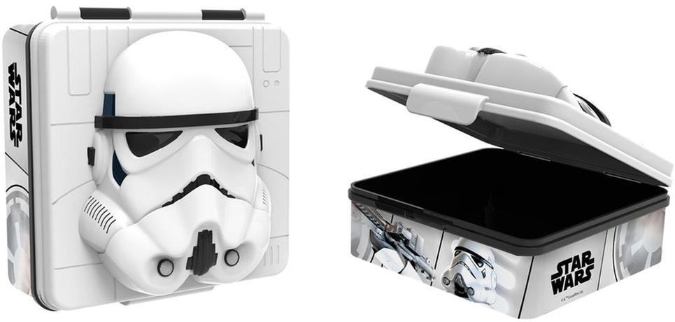 Plastový desiatový box 3D Star wars 600ml